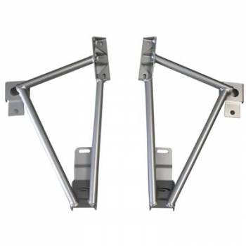Steeda - Steeda 3 Pt Brace Frame Rail & Torque Box 05-12 Mustang