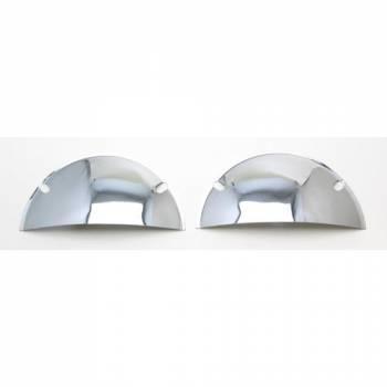 Trans-Dapt Performance - Trans-Dapt Headlight Half Shield - 7.5 in. Round