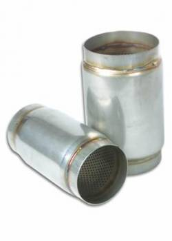 "Vibrant Performance - Vibrant Performance Muffler 4.5"" Inlet/Outl Stainless"