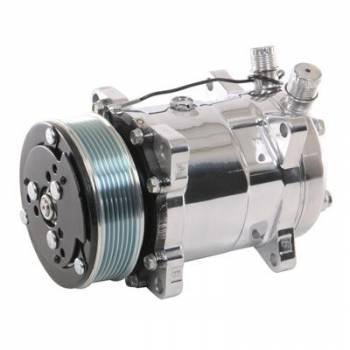 Vintage Air - Vintage Air Sanden 508 Polished Compressor