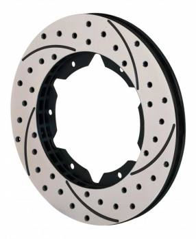 "Wilwood Engineering - Wilwood SRP Drilled Performance Rotor - RH - 10.75"" Diameter - .810"" Width - 6 x 6.25"" Bolt Circle"