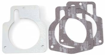 Edelbrock - Edelbrock Adapter Plate - GM LS T/B to 90mm Opening
