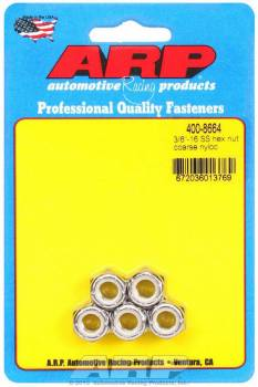 ARP - ARP Stainless Steel Hex Nyloc Nuts 3/8-16 (5)
