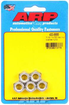 ARP - ARP Stainless Steel Hex Nyloc Nuts 7/16-14 (5)