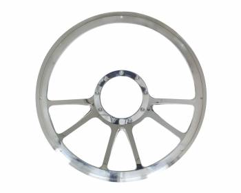 "Billet Specialties - Billet Specialties 14"" Edge Steering Wheel Half Wrap"
