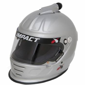 Impact - Impact Air Draft Top Air Helmet - Medium - Silver