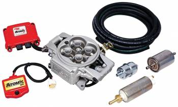MSD - MSD Atomic EFI Master Kit - Includes Throttle Body / Power Module / Wide Band O2 Sensor / Handheld Programmer / Fuel Pump Kit - (2920)
