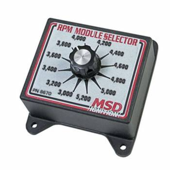 MSD - MSD Selector Switch - 3000-5200 RPM