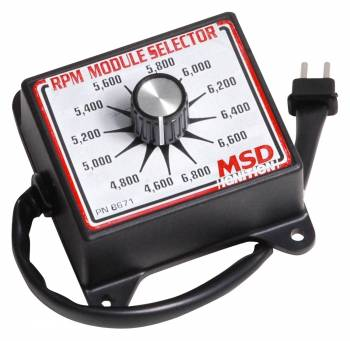 MSD - MSD Selector Switch - 4600-6800 RPM