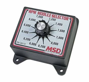 MSD - MSD Selector Switch - 6000-8200 RPM