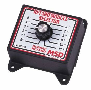 MSD - MSD Timing Retard Module Selector Switch - 0-11 Degrees