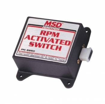 MSD - MSD RPM Activated Switch - 4 Cylinder