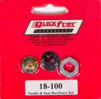 Quick Fuel Technology - Quick Fuel Technology Needle & Seat Hardware Kit