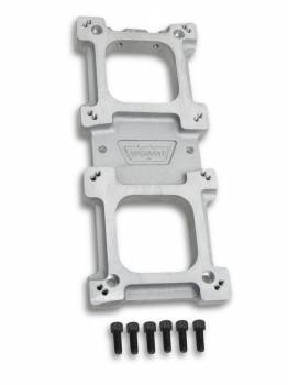 Weiand - Weiand 256 Carburetor Adapter - 2-4V 256 Adapter