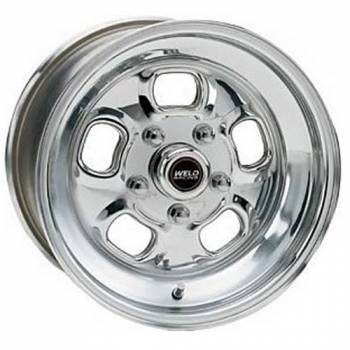 "Weld Racing - Weld Rodlite Polished Wheel - 15"" x 7"" - 5 x 4.5""/4.75"" Bolt Circle 3.5"" Back Spacing"