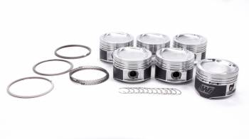 Wiseco - Wiseco Toyota Dished Piston Set 84mm 7MGTE