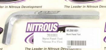 Wilson Manifolds - Nitrous Pro Flow Burst Panel Tool for NPF Plates