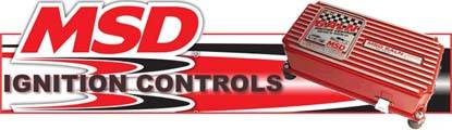 MSD has been the most recognized name in performance ignition systems for over 4 decades!