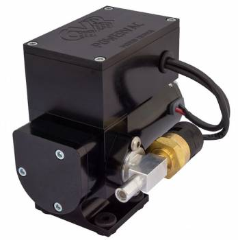 CVR Performance 12 Volt Electric Vacuum Pump %u2013 Black Anodized VP665