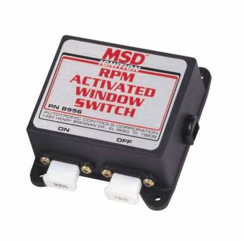 MSD - MSD RPM Activated Switch - Window
