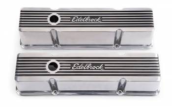 Edelbrock - Edelbrock Elite Series Valve Covers - Polished