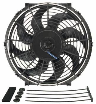 "Derale Performance - Derale 12"" Tornado Electric Fan - 880 CFM, 2100 RPM, 8.8 Amp Draw"