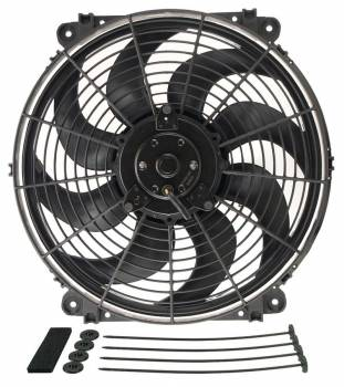 "Derale Performance - Derale 14"" Tornado Electric Fan - 1350 CFM, 1750 RPM, 10.5 Amp Draw"