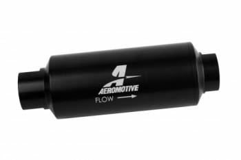 Aeromotive - Aeromotive In-Line Fuel Filter 40- Micron SS Marine w/12an