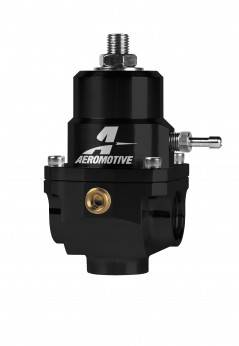 Aeromotive - Aeromotive X1 Fuel Regulator 3-15psi w/.313 Seat - Black