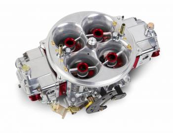 Holley Performance Products - Holley 1425 CFM Gen 3 Ultra Dominator Carburetor - Red/Silver