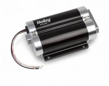 Holley Performance Products - Holley 160 GPH Dominator In-Line Billet Fuel Pump (Dual Inlet)