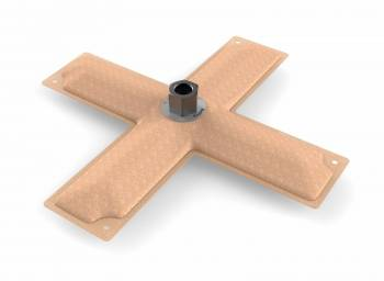 """Holley Performance Products - Holley 11"""" x 11"""" HydraMat®, Cross"""