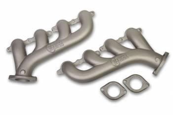 Hooker - Hooker Exhaust Manifolds - GM LS (except LS7/LS9) - Titanium Ceramic Finish