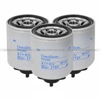 aFe Power - aFe Power Donaldson Fuel Filter for DFS780 Fuel Systems (3 Pack) - Dodge/RAM Diesel 05-10 L6-5.9L/6.7L