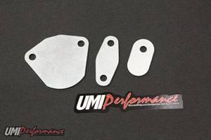 UMI Performance - UMI Performance 1993-1997 LT1 EGR Block-Off Plates-(3) Per Kit