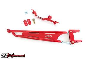 UMI Performance - UMI Performance 1993-2002 GM F-Body Tunnel Brace Mounted Torque Arm-Long Tube Header Set-ups - Red