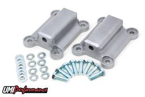 UMI Performance - UMI Performance 1998-2002 GM F-Body LSX Solid Aluminum Engine Mounts