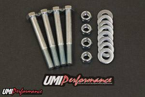 UMI Performance - UMI Performance 1978-2002 GM Rear Control Arm Bolt Upgrade Kit