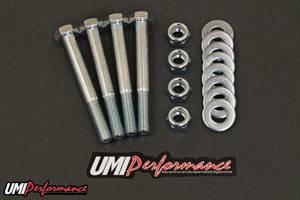 UMI Performance - UMI Performance 1978-2002 GM Rear Control Arm Bolt Upgrade Kit