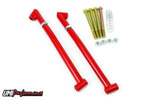 UMI Performance - UMI Performance 1968-1972 GM A-Body Control Arm Reinforcements/Frame Braces - Red
