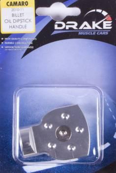 Drake Automotive Group - Drake Automotive Group Oil Dipstick Handle Cover Billet 10-  Camaro