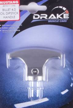 Drake Automotive Group - Drake Automotive Group Oil Stick Handle Billet 05-10 Mustang 4.0L