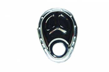 Specialty Chrome - Specialty Chrome SBC Steel Timing Chain Cover Chrome