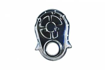 Specialty Chrome - Specialty Chrome BBC Steel Timing Chain Cover Chrome