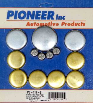 Pioneer Automotive Products - Pioneer AMC V8 Freeze Plug Kit - Brass