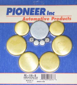 Pioneer Automotive Products - Pioneer Buick 400-455 Freeze Plug Kit - Brass