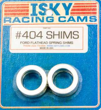 Isky Cams - Isky Cams Valve Spring Shims - 16pk