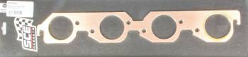 SCE Gaskets - Sce Gaskets BBC Copper Exhaust Gskts Big Chief/Dart 1/8in