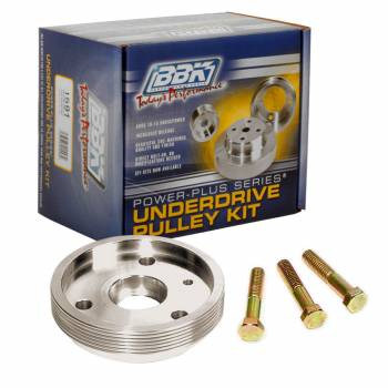 BBK Performance - Bbk Performance Underdrive Crank Pulley - 93-97 GM F-Body w/LT-1