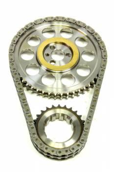 ROLLMASTER-ROMAC - Rollmaster-Romac BBC Billet Roller Timing Set w/Shim